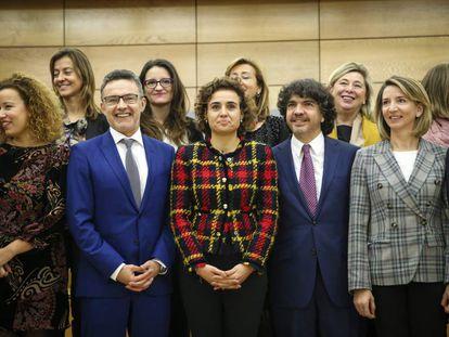 La ministra de Sanidad, Dolors Montserrat preside la Conferencia Sectorial de Igualdad en el Ministerio de Sanidad.