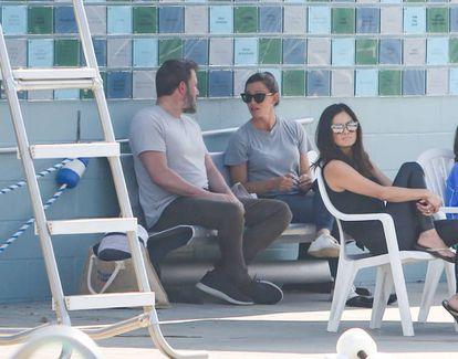 Ben Affleck y Jennifer Garner, en Los Ángeles.
