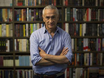 El periodista Jorge Ramos, en una imagen del año pasado.