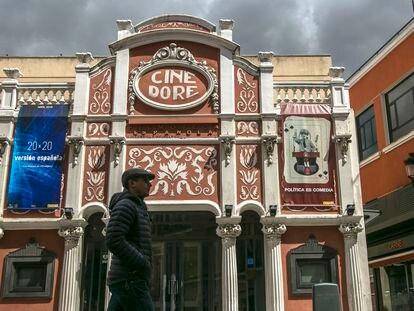 Imagen de archivo del Cine Doré, en Madrid.