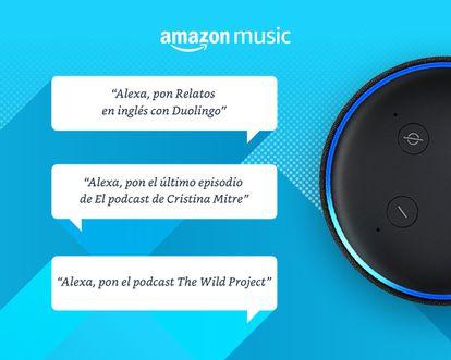 Amazon Music se abre un hueco en la industria de podcasts y ha aterrizado en España.
