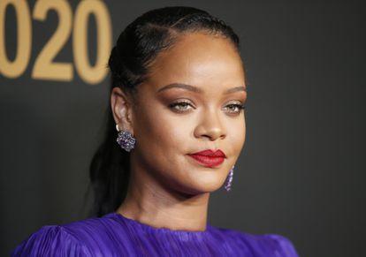 Rihanna, en Pasadena (California, EE UU), el pasado febrero.
