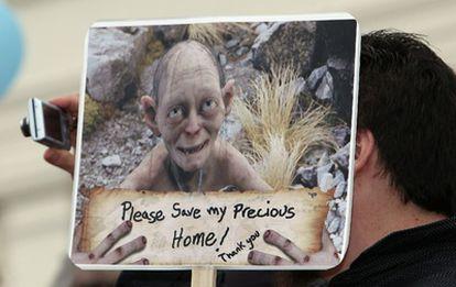 El personaje de 'El Señor de los Anillos' Gollum no quiere que destruyan su hogar