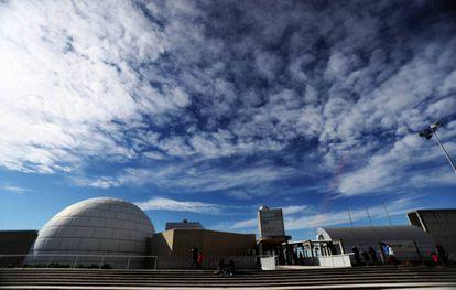 El Planetario de Madrid.