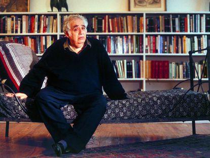 El escritor y crítico literario Harold Bloom.