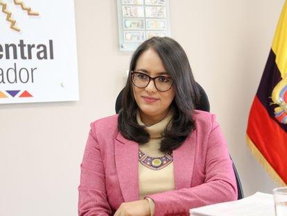 Verónica Artola, Gerente General del Banco Central de Ecuador desde junio de 2017.