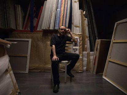 Suso33, en su estudio madrileño.