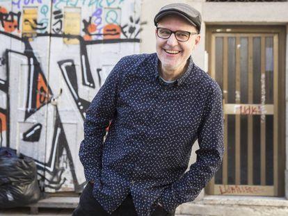 El cineasta Juanjo Giménez en 2017 en Barcelona.