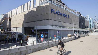 Centro comercial Plaza Rio 2, en Madrid.