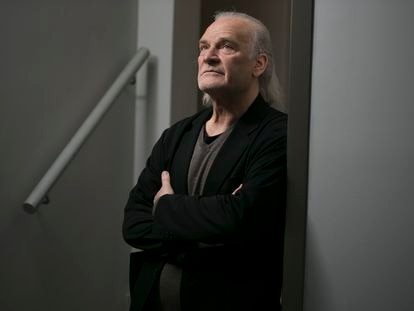 Lluís Homar, en la sede en Madrid de la Compañía Nacional de Teatro Clásico, de la que es director, en una imagen tomada hace dos semanas.