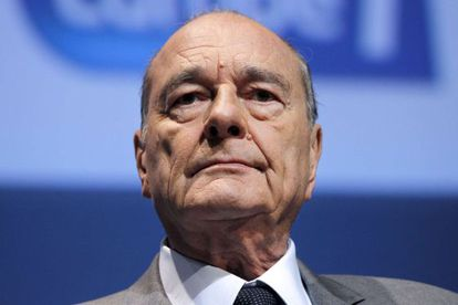El expresidente francés, Jacques Chirac, en noviembre de 2010.