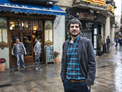 Ernest Urtasun, el pasado jueves en Barcelona