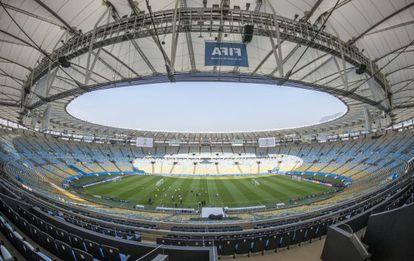 Panorámica del estadio Maracaná.