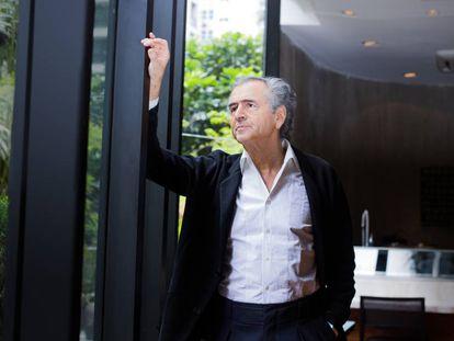 Bernard-Henri Lévy, durante su visita a São Paulo el pasado 24 de noviembre