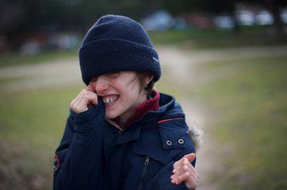 Álvaro, niño con esclerosis tuberosa.