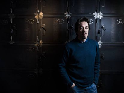 El escritor argentino Pedro Mairal, esta semana en Madrid.