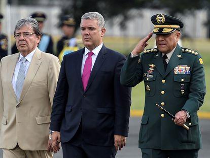 El presidente de Colombia, Iván Duque, en diciembre de 2019.