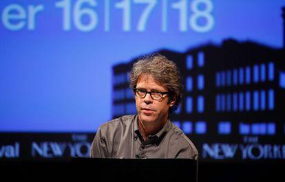 El escritor Jonathan Franzen, en 2009.