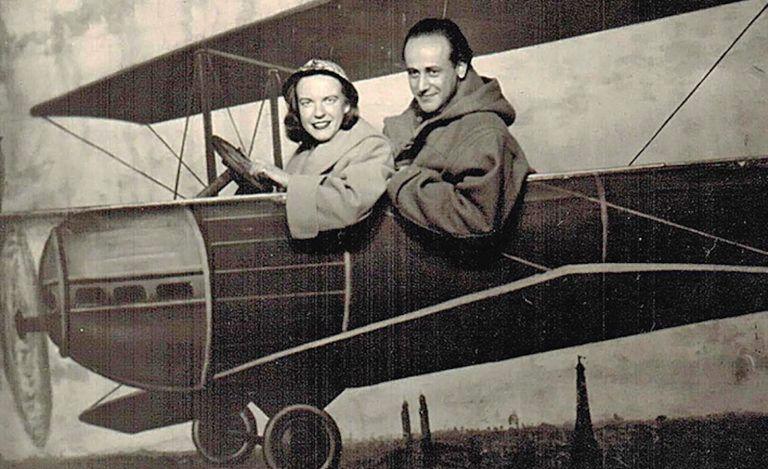 Paul Celan y su mujer, Ingeborg Bachmann.