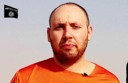Captura del vídeo del asesinado de Sotloff por el EI.