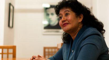La jueza guatemalteca Yassmín Barrios.