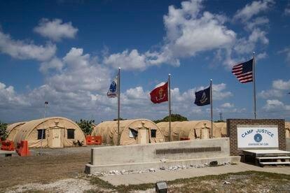 La base estadounidense de Guantánamo (Cuba), en una imagen de abril de 2019.