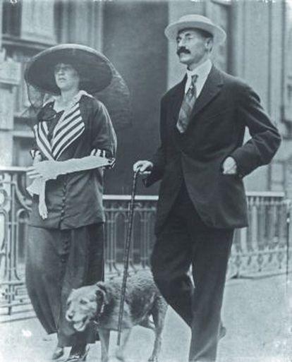 El matrimonio Astor.