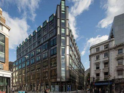 Imagen del edificio The Post Building de Londres, adquirido por Pontegadea en 2019.