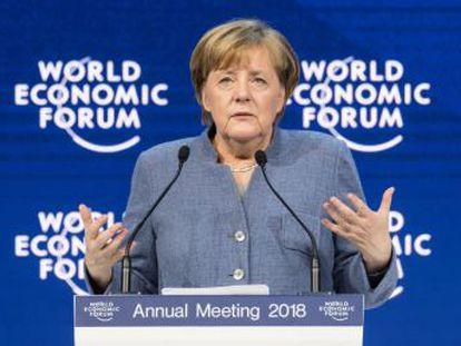La canciller alemana y el presidente francés muestran su interés en reformar el proyecto europeo