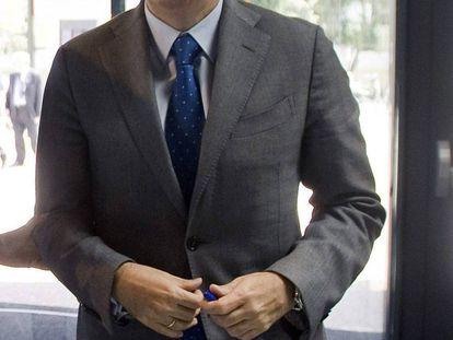 Fotografía de archivo de Ramón Escolano, elegido por Mariano Rajoy como ministro de Economía y Competitividad.