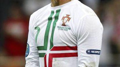 Cristiano Ronaldo celebra la clasificación para semifinales