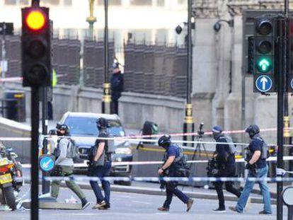 El centro político y administrativo de la capital es también el destino de hordas de turistas que tras el ataque quedaron atrapados en sus calles y atracciones durante horas