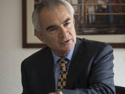 José Manuel Salazar, director regional de la OIT, en entrevista con EL PAÍS en la Ciudad de México.