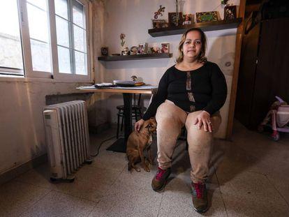 Shakira Zhoe, inmigrante beneficiada por una ayuda al alquiler.