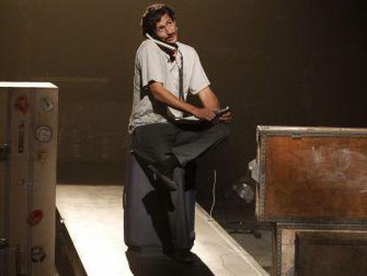 Juan Diego Botto en una escena de 'Un trozo invisible de este mundo'.