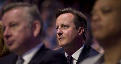 David Cameron, en el congreso del Partido Conservador.