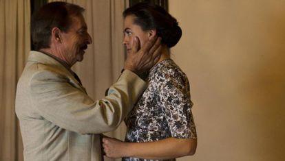 Roberto Quintana y Celia Vioque, en la obra.