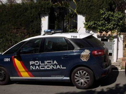 Una patrulla de la policía, en una imagen de archivo.