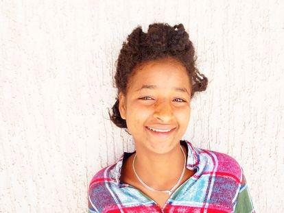 Gelanesh Garade, superviviente de abusos sexuales, en Etiopía.
