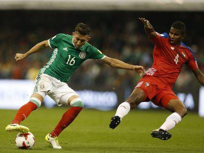 Mexico durante el partido ante Panamá.