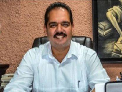 Silvestre de la Toba Camacho en una imagen de la Comisión Estatal de Derechos Humanos.