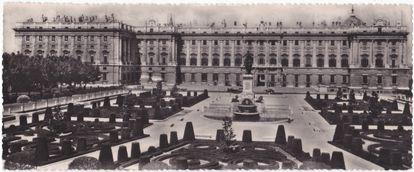 El Palacio Real de Madrid.