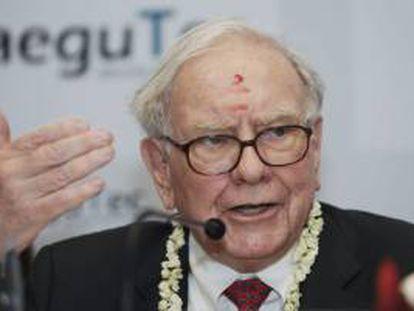 En la imagen, el multimillonario inversor Warren Buffett. EFE/Archivo