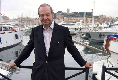 El director Guy Hamilton, el 14 de mayo de 2005, en el festival de Cannes.