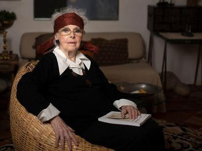 Elizabeth Wittlin Lipton en su casa de Lavapies, Madrid.