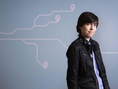 Raquel Urtasun, retratada en el centro Advanced Technologies Group de Uber en Toronto.
