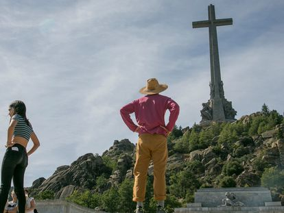 Imagen del Valle de los Caídos.