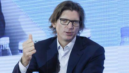 Niklas Zennström durante su conferencia en South Summit Madrid.