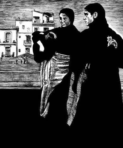 Imagen de 'Con Walter Benjamin, soñador abismado en el paisaje', de Frédéric Pajak.