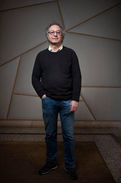 El arqueólogo Carlos Caballero, en Madrid, el pasado enero.